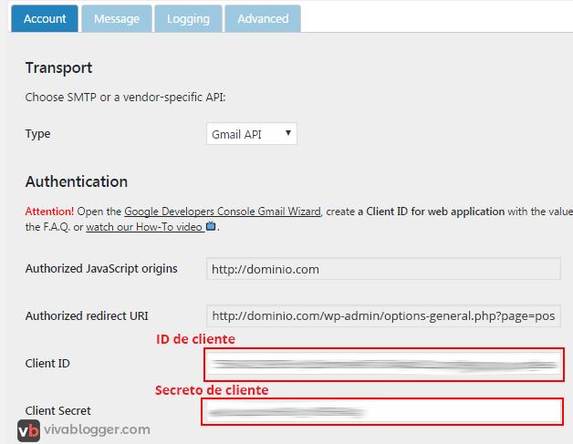 configurar en envió de emails en postman smtp