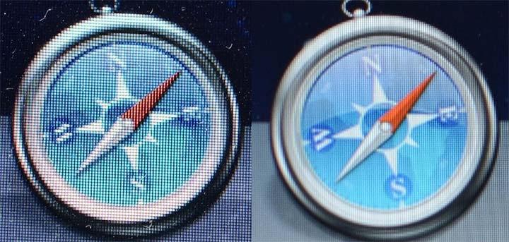 pantallas retina vs pantallas normales